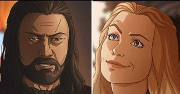 Художница превратила героев «Игры престолов» в персонажей аниме