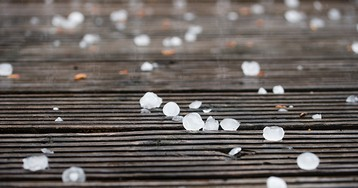 Video Shows Oranged-Sized Hail Raining Down in the Streets of Italy; At Least 18 Injured