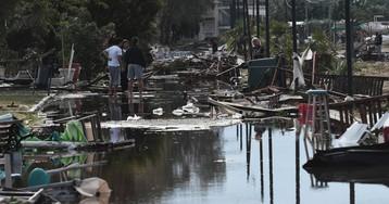 Los daños por el temporal en Grecia, en imágenes