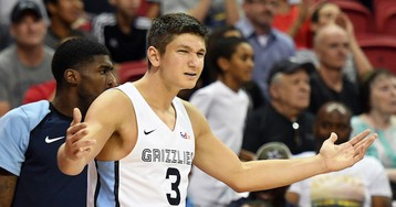 Grayson Allen Ejected During Summer League Game for Flagrant Fouls After Taking Swing at Player