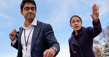 "AOC's chief of staff: We don't think of the Green New Deal as a climate thing but as a ""change the entire economy"" thing"