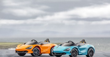 McLaren Unveils the 720S Ride-On, a Supercar for Kids