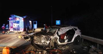 Un 'kamikaze' muere en un accidente múltiple con cinco heridos tras conducir 50 kilómetros a 200