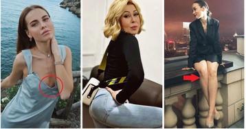 Звезды, чьи фото критикуют в Рунете