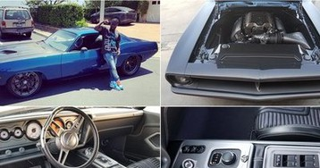 Kevin Hart Has a Hellcat-Swapped and Tuned 1970 Plymouth Barracuda and It's What Dreams are Made of