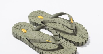 Tourist Meets Techwear With Vibram's New Orthopedic Flip-Flop