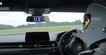 Top Gear Dropped the Toyota Supra on its Test Track and It Can Hold Its Own