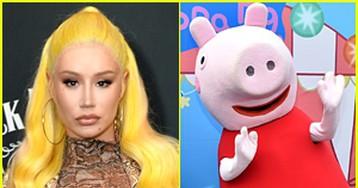 Iggy Azalea Demands a Collaboration With Peppa Pig