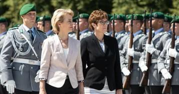 Merkel protege AKK given defence job seen as poisoned chalice