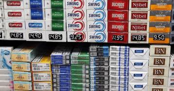 Decomisadas 48.000 cajetillas de tabaco ilegal en Madrid
