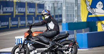 Inside Harley-Davidson's EV shift with a ride on its LiveWire