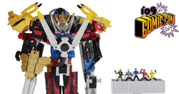Your First Look at Hasbro's Gigantic Power Rangers: Beast Morphers Ultrazord Set
