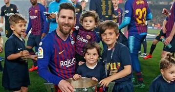 Весь в отца. Как выглядят дети звёзд спорта: Месси, Макгрегор, Роналду и другие