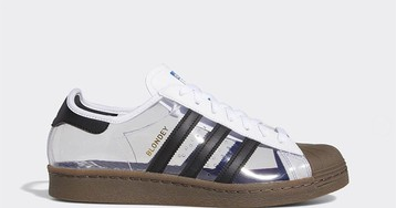 Here's a First Look at Blondey McCoy's See-Through adidas Superstar