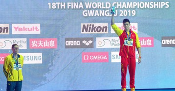 Australian Swimmer Refuses To Share Podium With Chinese Rival Over Strange Doping Allegations