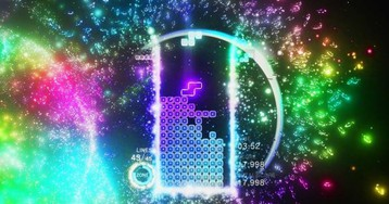 Tetris Effect PC has some quirks, and I don't care because 144Hz ultrawide