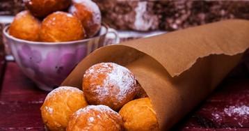 Домашние творожные пончики