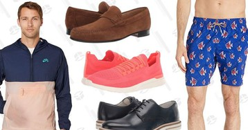 The Most Stylish Men's Finds in the Zappos Birthday Sale