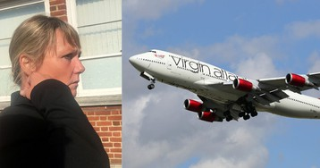 Virgin Atlantic passenger restrained on flight after attacking boy, 8