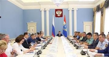 Дмитрий Азаров провел координационное совещание по обеспечению правопорядка в области