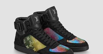 Вещь дня: кроссовки Louis Vuitton с голографическими вставками