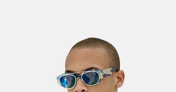 RETROSUPERFUTURE's New Sunglasses Feature Andy Warhol's Camo Print