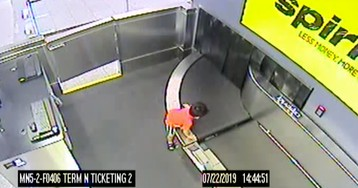 Harrowing Video Shows 2-Year-Old's Wild Ride on a Baggage Conveyor Belt at Atlanta Airport
