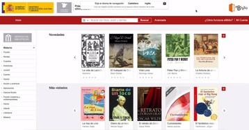 La biblioteca 'online' de Cultura multiplica por 25 los préstamos