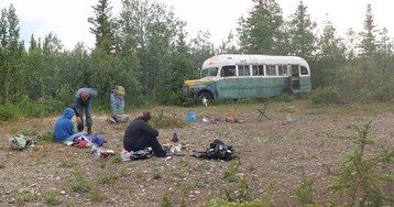 Newlywed woman, 24, dies in Alaska river trying to reach famous 'Into the Wild' bus
