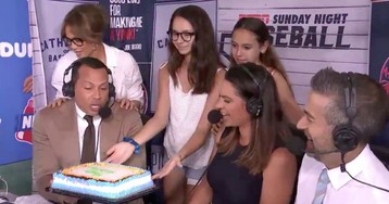 Jennifer Lopez Surprised Alex Rodriguez With A Birthday Cake, But He Didn't Eat It