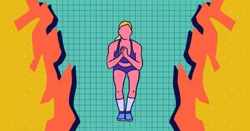 15 минут ада: интенсивная тренировка из простых упражнений