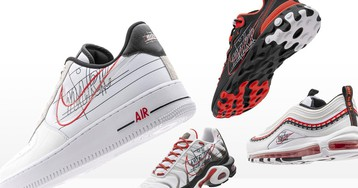 Nike Celebrates the Evolution of the Swoosh With New Sneaker Packs