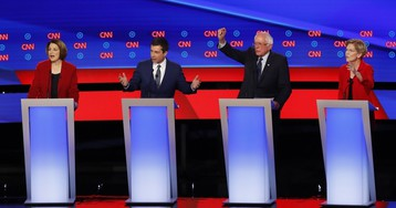 Live coverage of Tuesday's Democratic presidential debate, #3