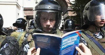 Пришли домой. Начались обыски у участников акции оппозиции в Москве