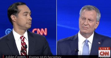 Julián Castro gets loudest applause after calling out de Blasio's inaction on Eric Garner's death