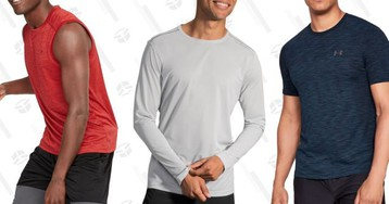 Eight Great Options For Upgrading Your Workout Shirts
