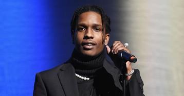A$AP Rocky Celebrates Release by Attending Kanye West's Sunday Service