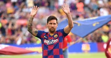 Messi se queda en casa