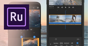 Adobe adds speed controls to Premiere Rush for epic slow motion and faster action