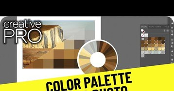 CreativePro Video: Create a Color Palette From a Photo