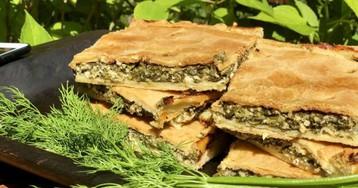 Греческий луковый пирог с Миконоса