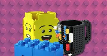 Quem curte Lego vai amar estes itens para casa inspirados nas pecinhas