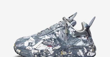 Eytys' New Laser Sneaker Features Custom Urban Camo Print