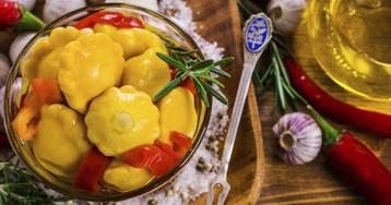 5 рецептов хрустящих маринованных патиссонов