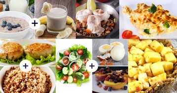 День на 1500 Ккал. Как может выглядеть ваш завтрак, обед и ужин