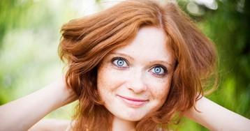 Какое сочетание цвета глаз иволос самое редкое вмире?