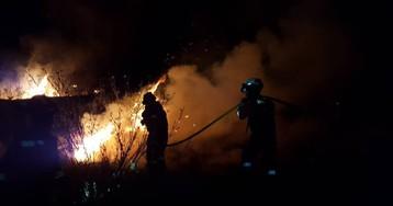Las imágenes en vídeo del incendio de Gran Canaria
