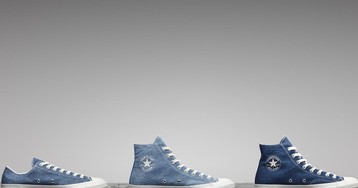 Converse's New Chucks Are Made From Upcycled Denim