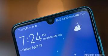 Huawei P30 series update brings night mode to selfie camera