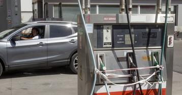 La gasolina española alivia la huelga portuguesa en la frontera